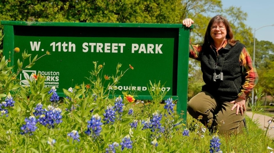West 11th Street was purchased by the city of Houston in 2007. (Courtesy of Friends of West 11th Street Park)