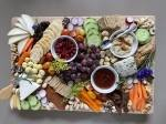 Wicked Bold Vegan Kitchen offers a variety of nuts, olives and cheeses in its charcuterie boards. (Courtesy Wicked Bold Vegan Kitchen)