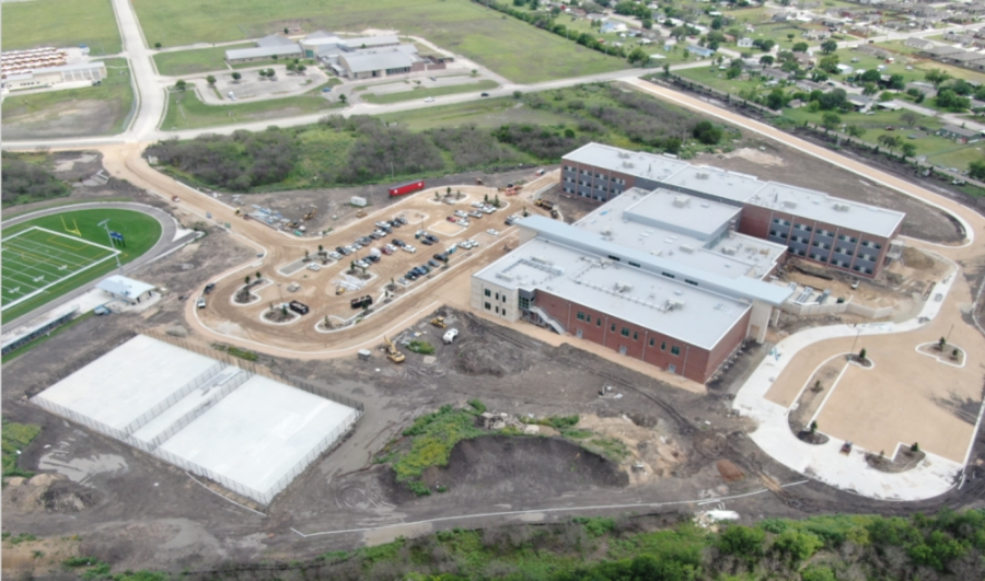 Construction on the facility is anticipated to be complete in mid-July. (Courtesy Stantec)