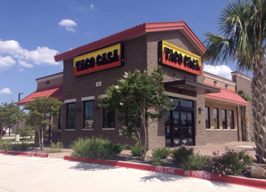 The first Taco Casa opened in 1972 in Garland, Texas. (Courtesy Taco Casa)