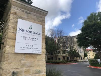 Brookdale Gaines Ranch is located at 4409 Gaines Ranch Loop, Austin. (Jack Flagler/Community Impact Newspaper)
