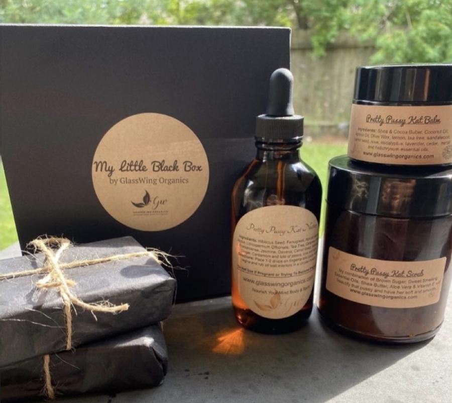 GlassWing Organics sells handmade skin care products. (Courtesy GlassWing Organics)
