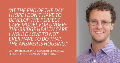 Tim Mercer is a Dell Medical School assistant professor and director of the school's global health program.