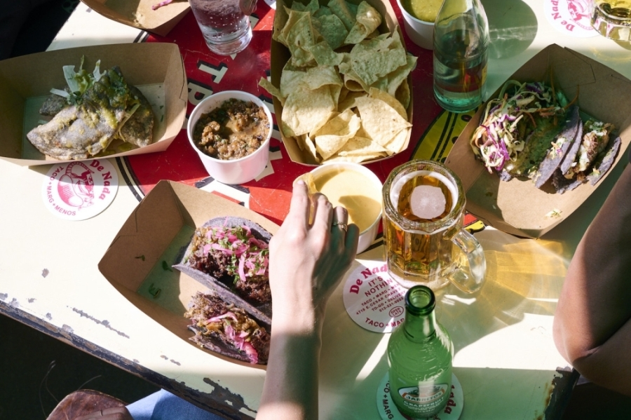 Photo of a spread off Mexican food