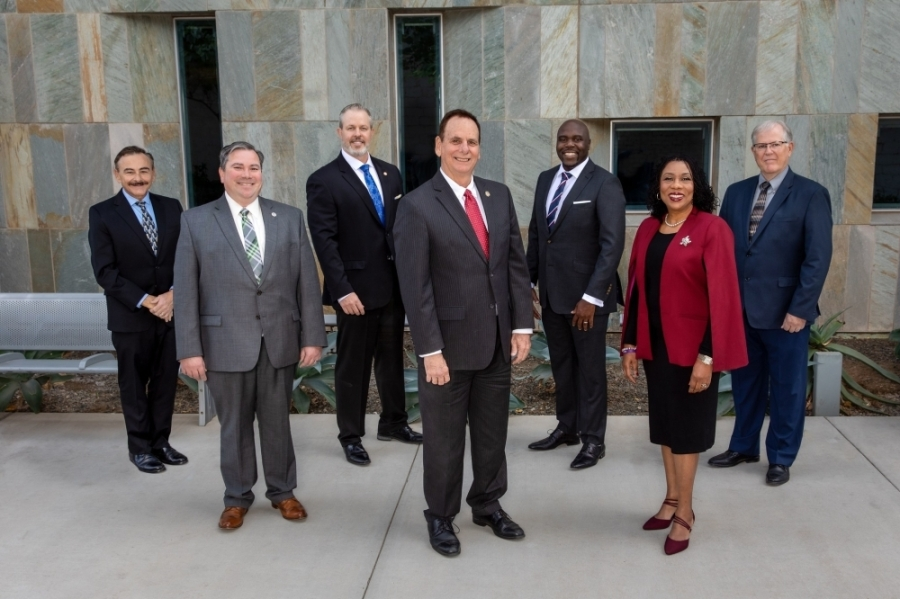 Chandler City Council members. (Courtesy city of Chandler)