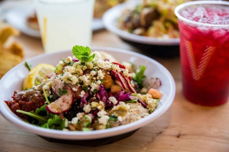 Mediterranean restaurant Cava specializes in build-your-own bowls. (Courtesy Cava)