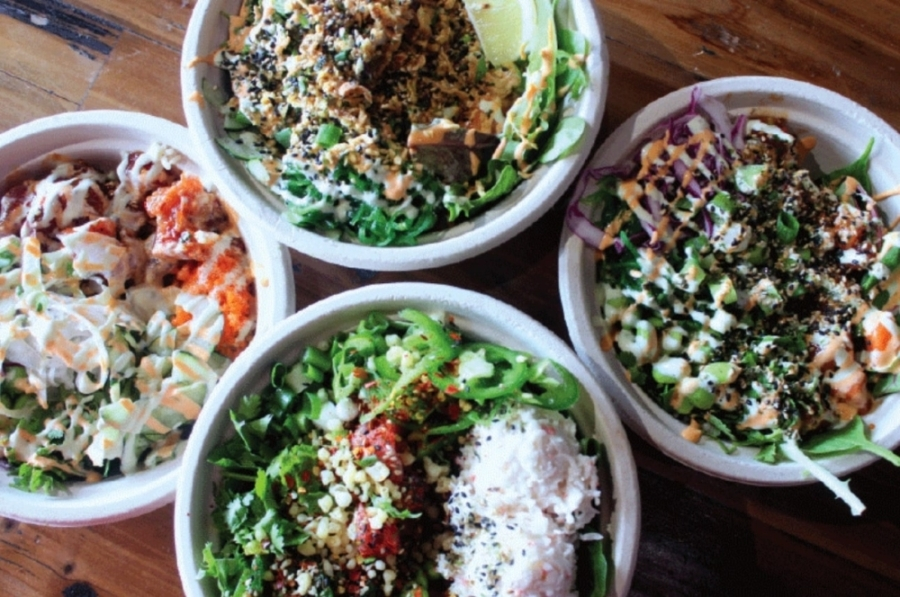 Poke House opened its West Lake Hills location in June. (Amy Denney/Community Impact Newspaper)