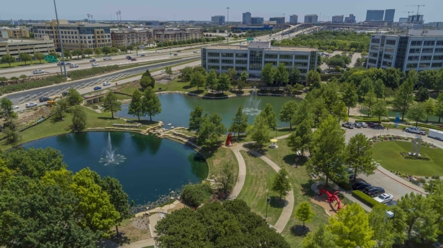 Common Desk opened July 1 at 3201 Dallas Parkway, Frisco. (Courtesy Hall Group)