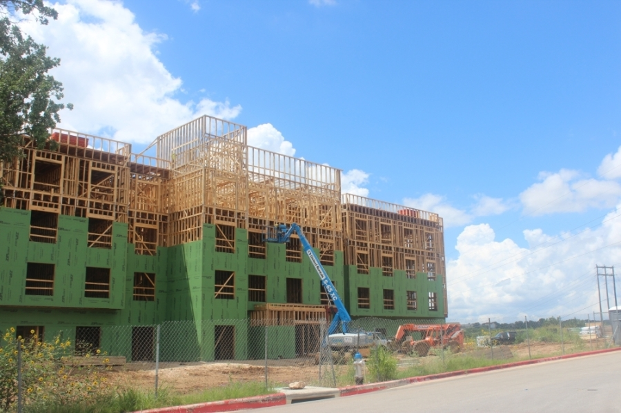 The hotel will have 96 rooms. (Fernanda Figueroa/Community Impact Newspaper)