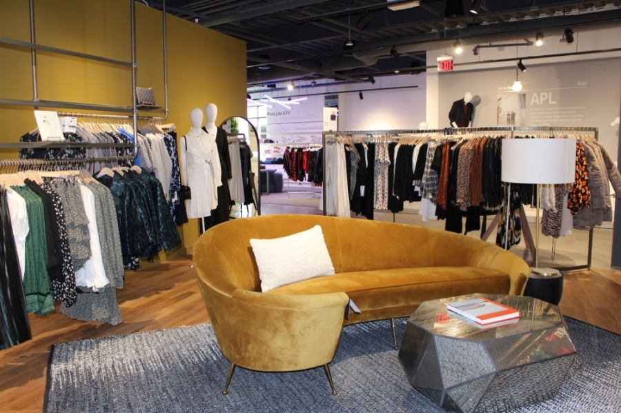 Market by Macy's offers an assortment of boutique clothing options sorted by themes throughout the store. (Miranda Jaimes/Community Impact Newspaper)