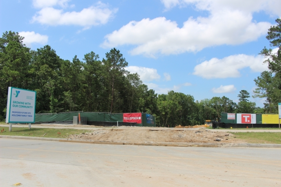 Work on the first phase of the development will continue through the fall. (Andrew Christman/Community Impact Newspaper)