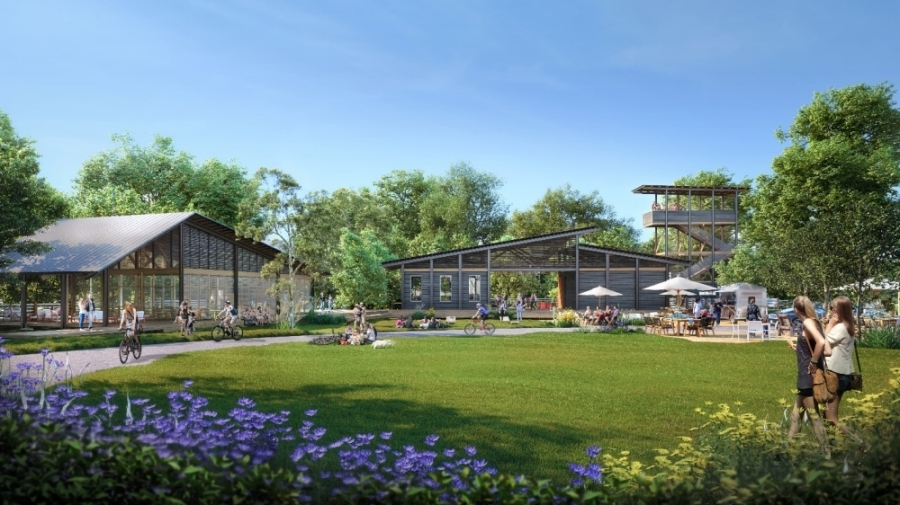 The Painted Tree community in McKinney will include trails and outdoor amenities. (Rendering courtesy Oxland Advisors)