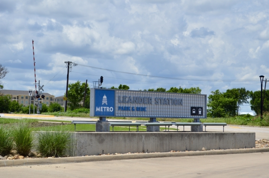 Capital Metro operates both commuter rail and buses in Leander. (Taylor Girtman/Community Impact Newspaper)