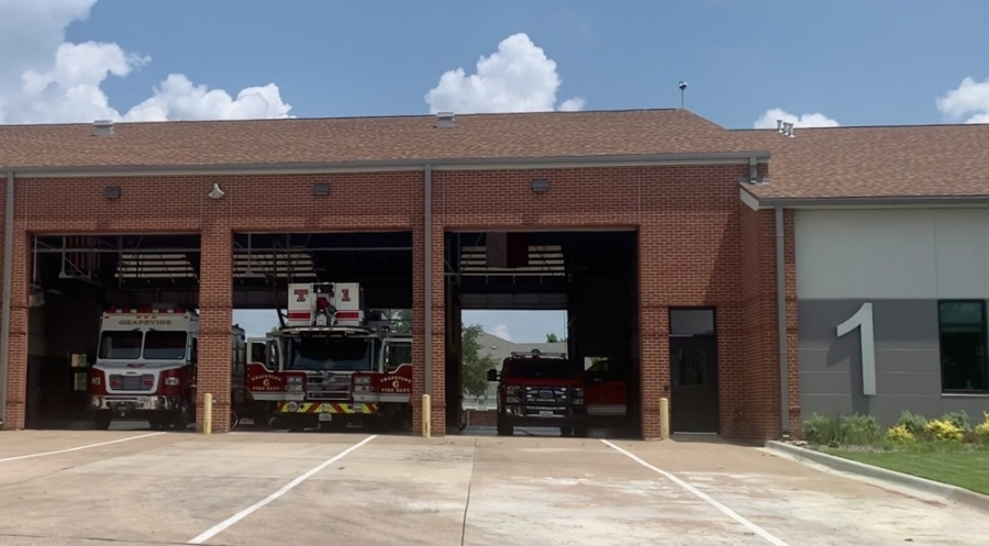 the exterior of a fire station in Grapevine