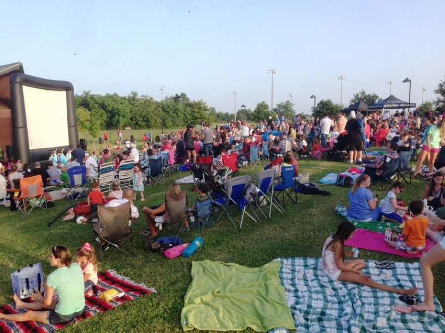 Movies in the Park happens weekly. (Courtesy City of Friendswood)