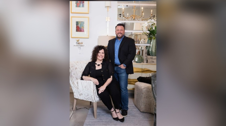 Owners Mollie Carroll and Jeremy Greeney were friends and colleagues for 20 years before opening Manor Interiors together. (Courtesy Manor Home Furnishings & Design)