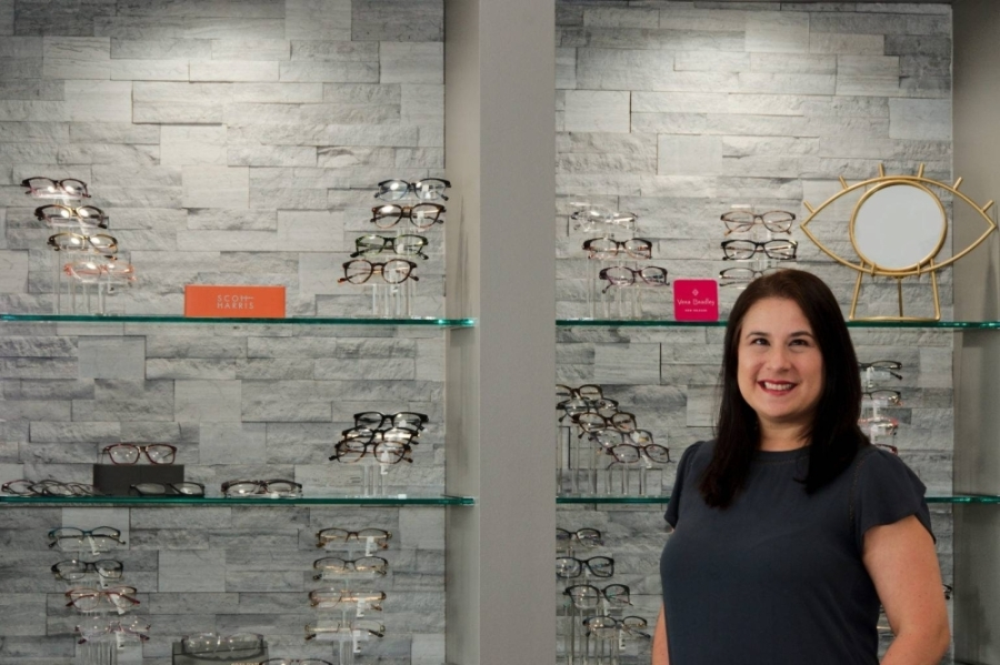 Dr. Poly De La Garza, owner of Generations Family Eyecare, grew up in Houston and has a background in developmental vision and vision therapy.