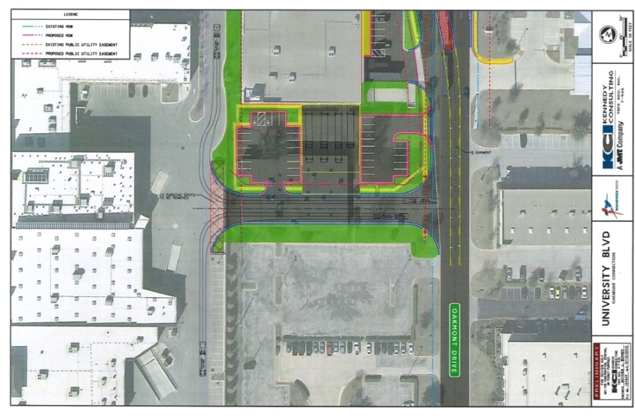 The property is being exchanged for a piece already owned by the city as part of its University Boulevard widening project. (Courtesy city of Round Rock)