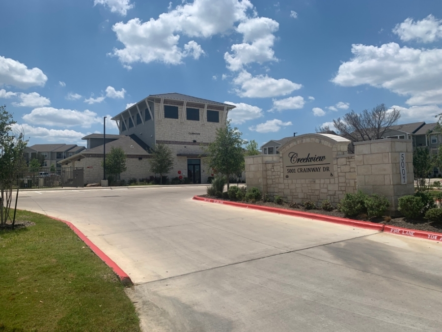 Rise Residential has built numerous workforce housing complexes in Texas, including Creekview apartments in East Austin. (Greg Perliski/Community Impact Newspaper)
