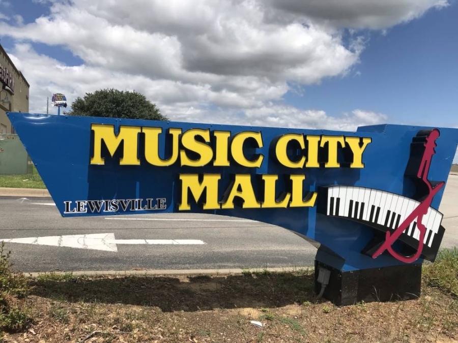 music city mall sign
