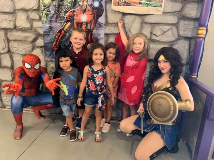 Children can dress up as a superhero at The Woodlands Children's Museum on July 17. (Courtesy The Woodlands Children's Museum)