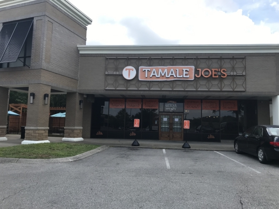 Tamale Joe's opened in early July in Cool Springs. (Wendy Sturges/Community Impact Newspaper)