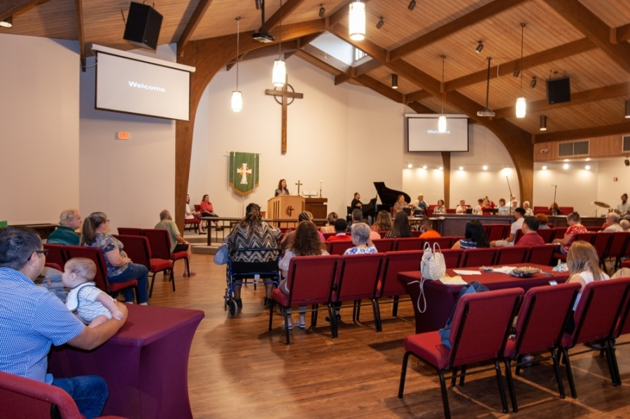 In addition to a new name, Spring Community Church also completed church-wide renovations in early July. Horton said this is the first remodel for the 40-year-old church which has spent the past 37 years in the same facility. (Courtesy Brandi Horton)