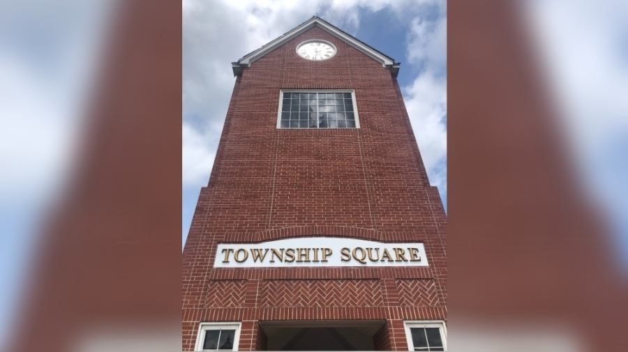 Missouri City's Township Square shopping center is located at the intersection of FM 1092 and Township Lane. (Claire Shoop/Community Impact Newspaper)