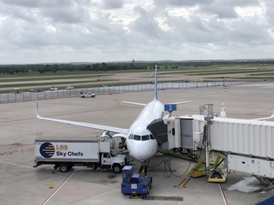 Austin-Bergstrom International Airport passenger traffic reached 1.1 million in May. (Iain Oldman/Community Impact Newspaper)