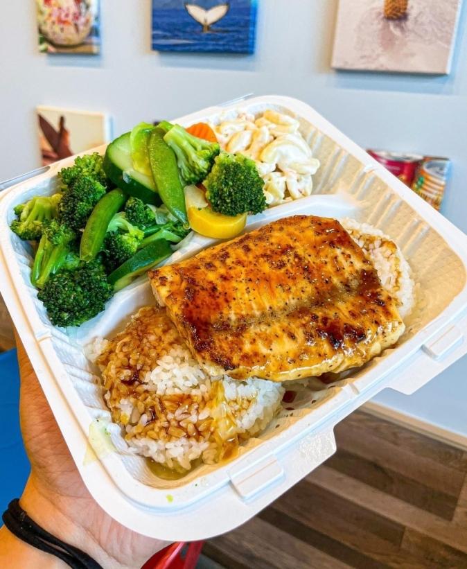 Maika'i Hawaiian BBQ sells Hawaiian dishes, including kalbi short ribs, macaroni salad and chicken katsu. (Courtesy Maika'i Hawaiian BBQ)