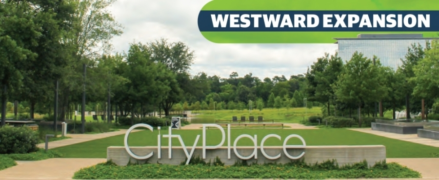 City Place, formerly known as Springwoods Village, is set to add roughly 600 single- and multifamily residential units by 2023 with thousands more in the works, developers of the master-planned community announced June 29. (Wesley Gardner/Community Impact Newspaper)