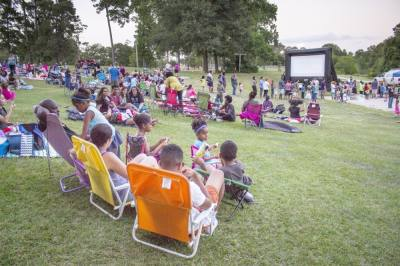 """Harris County Precinct 4 will host an outdoor showing of Disney's animated film """"Brave"""" at Collins and Pundt parks. (Courtesy Harris County Precinct 4)"""