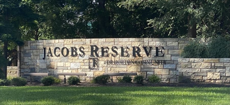 Jacobs Reserve is located north of FM 1488 and west of I-45, and it is zoned to Conroe ISD.  (Photos by Ally Bolender/Community Impact Newspaper)
