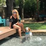 Texas native Amy Hageman founded Texas Tiny Pools in 2017. (Courtesy Cate Black Photography)