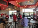 The restaurant held a soft family and friends opening earlier this week. (Photo by Laura Aebi/Community Impact Newspaper)