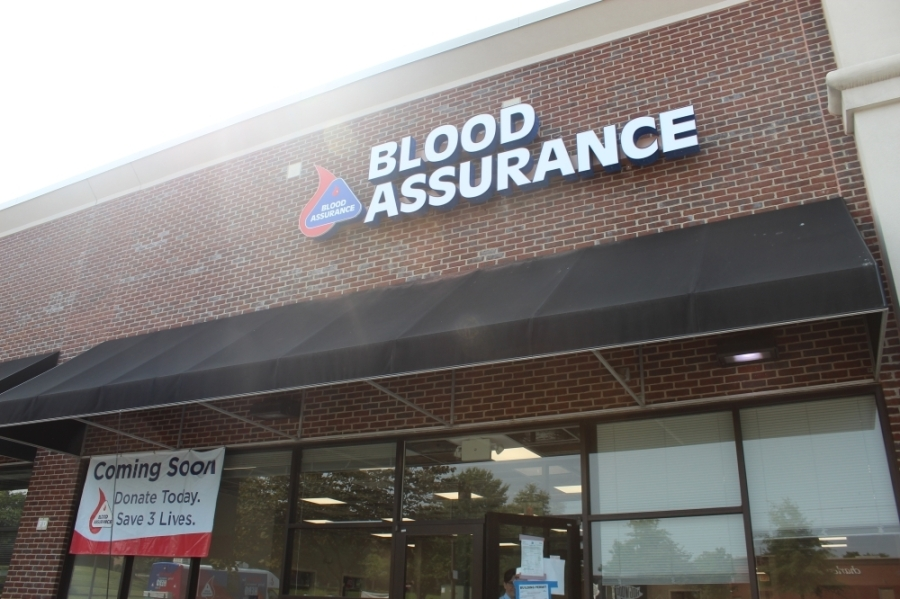 Blood Assurance will open a new blood donation center on Frazier Drive in Cool Springs. (Photos by Wendy Sturges/Community Impact Newspaper)