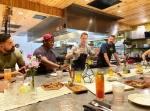 Photo of men at a restaurant