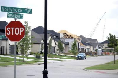 This year's single-family housing permits in Frisco already rival total 2020 numbers, according to city data. Some local builders are working at breakneck speeds chasing demand with limited and increasingly costly supplies. (Matt Payne/Community Impact Newspaper)