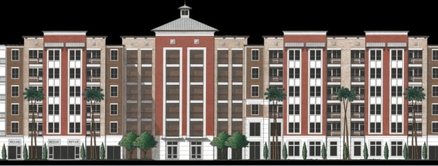 The Houston City Council approved spending $19.6 million on the development of Caroline Lofts, a planned affordable rental home community that will go in Midtown at 2403 Caroline St., Houston. (Courtesy City of Houston)