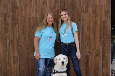 Wendy Yates (left) and Victoria Slater own Bluebonnet. (Brooke Ontiveros/Community Impact Newspaper)
