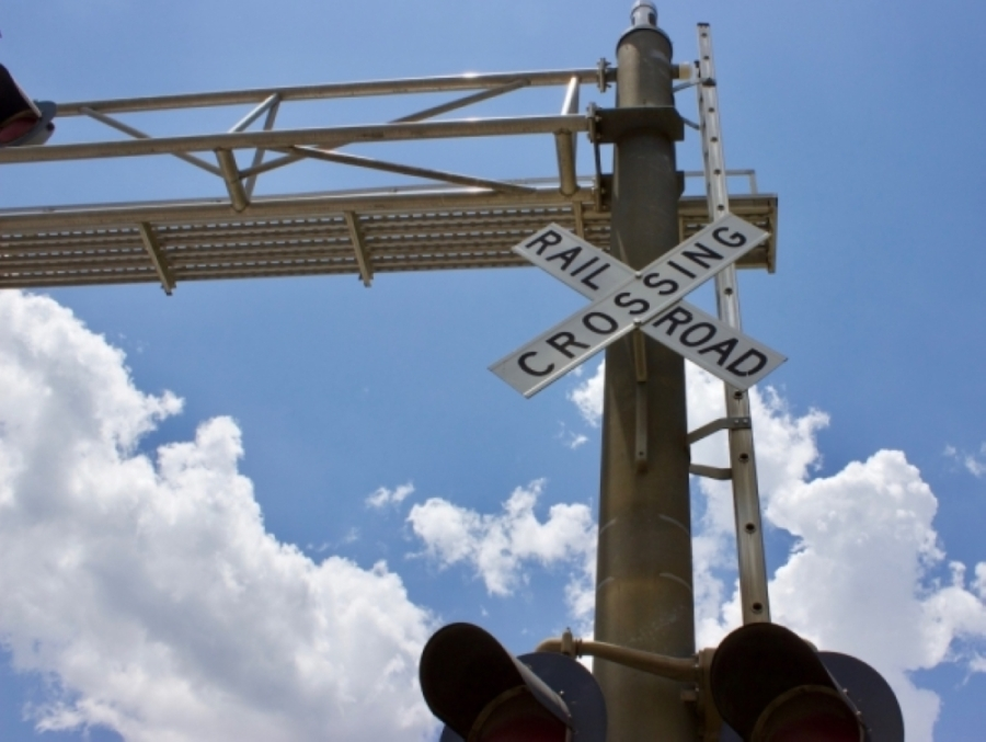 The city's first railroad quiet zone went into effect July 6, restricting train operators from blowing horns from CR 172 to Burnet Road, according to a press release from the city. (Taylor Jackson Buchanan/Community Impact Newspaper)