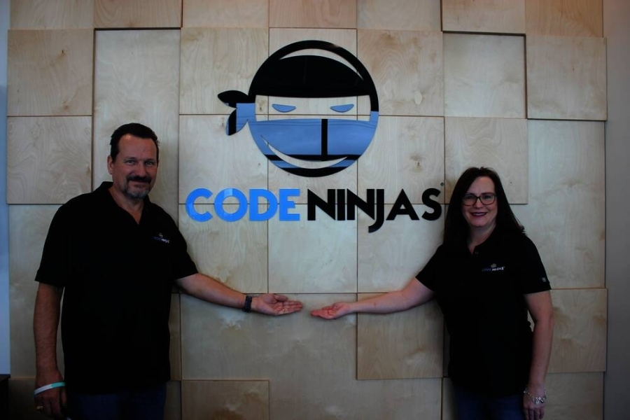 The Deer Park location is owned and operated by local entrepreneurs Sonda and Michael Frament. Michael has over 20 years of professional experience in computer programming and software development. (Courtesy of Sonda and Michael Frament)