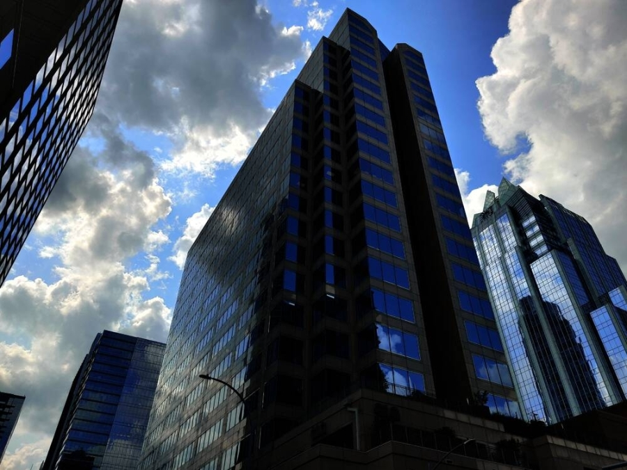 Several downtown office towers saw thousands of square feet of space available for sublease early this year. (Ben Thompson/Community Impact Newspaper)aa