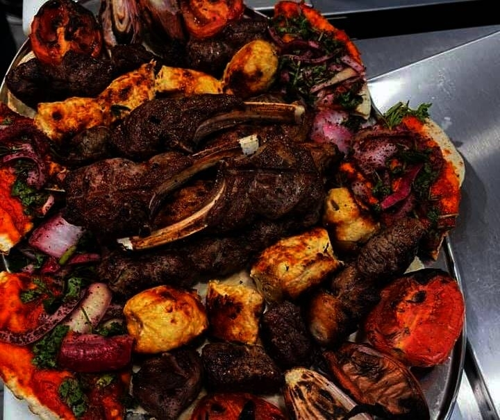 The meat market and butcher shop offers authentic Middle Eastern-style grilled meats. (Courtesy Green Valley Meat Market & Grill)