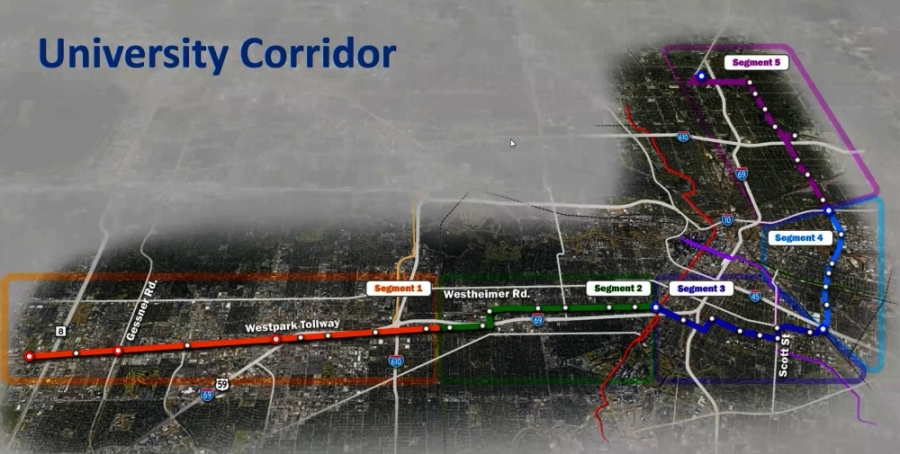 The Metropolitan Transit Authority of Harris County is still in the early stages of a new METRORapid line, but officials discussed preliminary paths and station locations at a July 27 meeting of the Neartown Association. (Courtesy METRO)