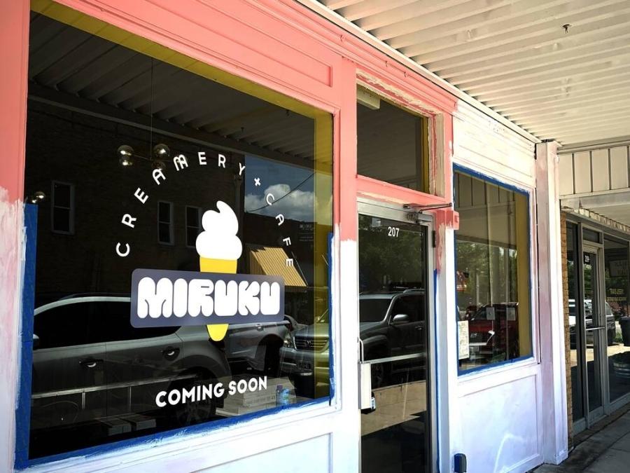 Miruku Creamery   Cafe plans to open by September at 207 N. Kentucky St., McKinney. (Vicki Chen/Community Impact Newspaper)