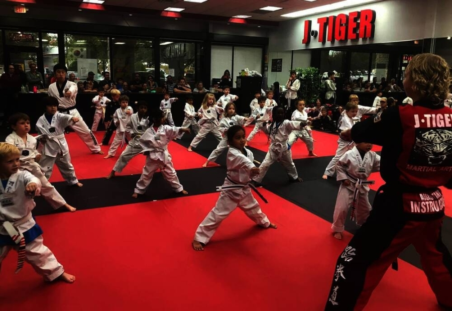 The martial arts school offers a variety of programs for youth, teens and more. (Courtesy J Tiger Martial Arts)