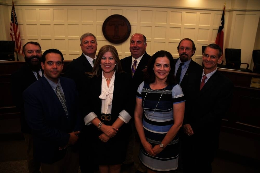The Tomball ISD board of trustees was named the Region 4 School Board of the Year for the 2020-21 school year by the Texas Association of School Administrators School Board Awards Program. (Courtesy Tomball ISD)