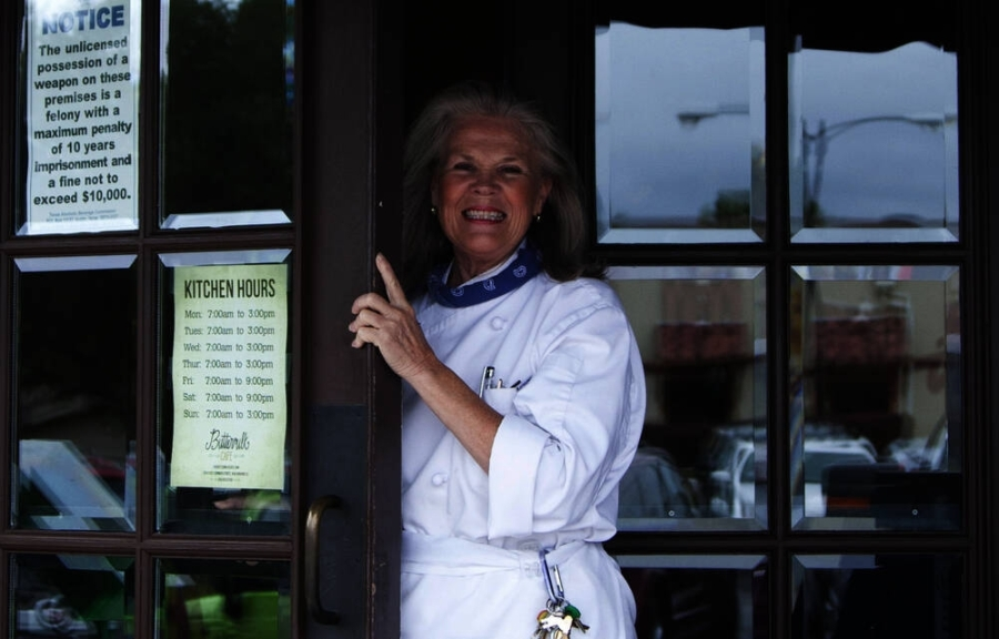 Chef Carol Irwin is the executive chef at The Buttermilk Cafe. (Courtesy The Buttermilk Cafe)