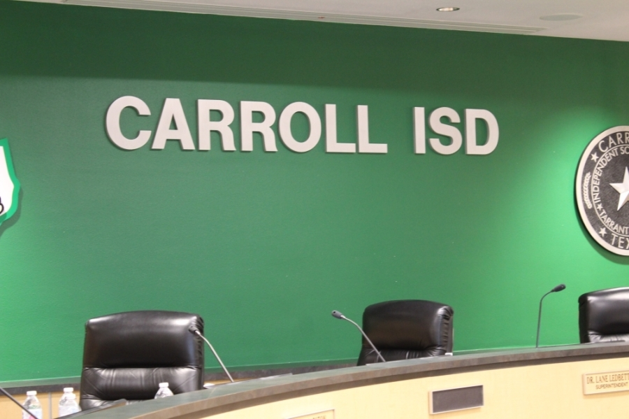 The Carroll ISD Board of Trustees decided Aug. 2 to hold a special election in November to fill Place 7 on the board. (Sandra Sadek/Community Impact Newspaper)